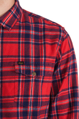 Obey Drifter Flannel Button Down