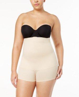 Maidenform Women's Plus Size Firm Control Fat-Free Dressing High Waist Boyshort 12107
