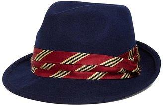 Brooks Brothers BB#1 Stripe Fedora
