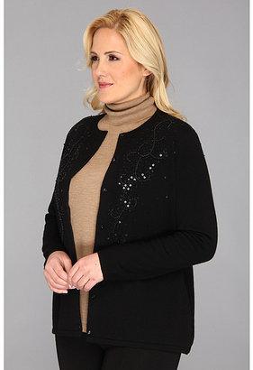 Pendleton Plus Size Twinkle Beaded Cardigan