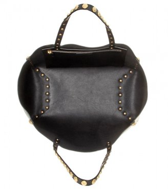 Valentino Gryphon Studs leather tote