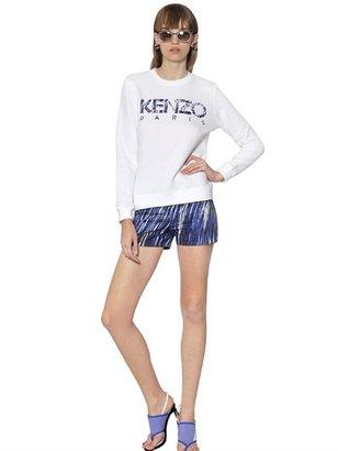 Kenzo Sequined Fleece Sweatshirt