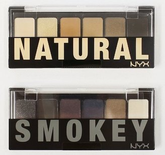 "NYX The Natural / Smokey Shadow Palette - "" TNS01 + TSS01 "" $13.85 thestylecure.com"