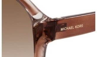 Michael Kors Women's Guadeloupe M2803S Sunglasses, Brown