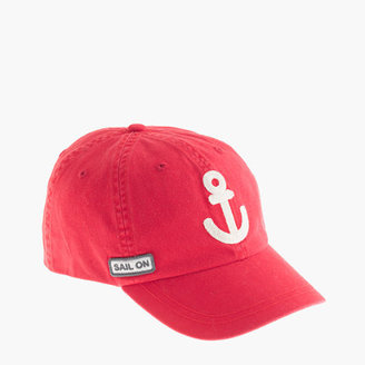 J.Crew Kids' anchor baseball cap