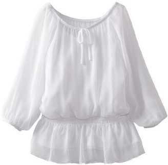 Amy Byer Girls 7-16 Peasant Top