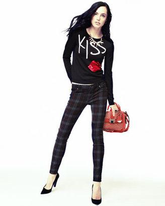 Blank Tartin Martin Plaid Skinny Jeans (Stylist Pick!)