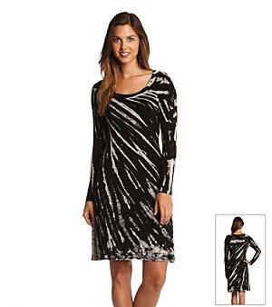 Karen Kane Tie-Dye A-Line Dress