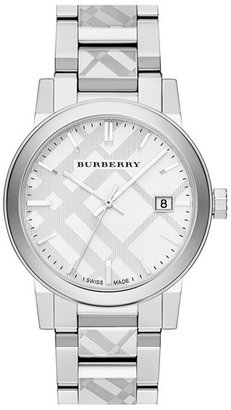 Burberry Check Stamped Bracelet Watch, 38mm $595 thestylecure.com