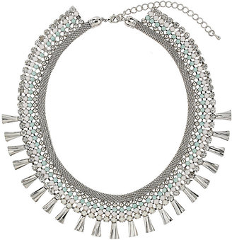 Topshop Premium Pastel Rhinestone Collar