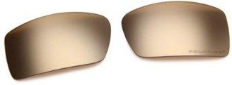 Oakley Gascan 16-466 Polarized Rimless Sunglasses,Multi Frame/Gold Lens,One Size