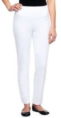 Women With Control Regular Slim Leg Ankle Pants w/ Waist Seams