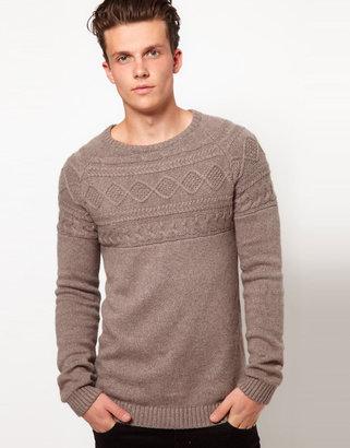 Antony Morato Cable Sweater