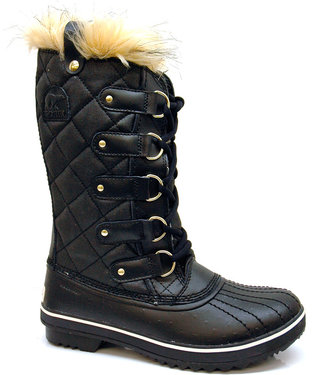 "Sorel Tofino Canvas"" Black Boots"