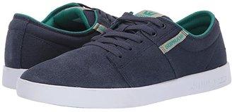 Supra Stacks II (Black/Gum 3) Men's Skate Shoes