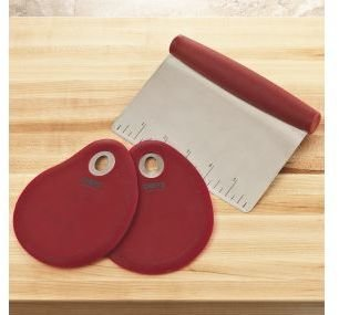 Chefs Pastry Cutter and Bowl Scraper Set
