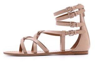 Tory Burch Lucas Flat Sandals