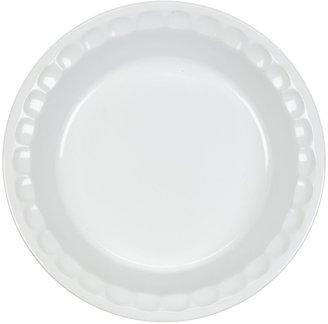 Le Creuset Stoneware 9 Inch Pie Dish, White