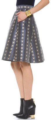 Temperley London Jewel Jacquard Skirt