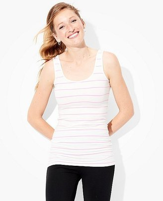 Women's Luxe Pima Tank $32 thestylecure.com