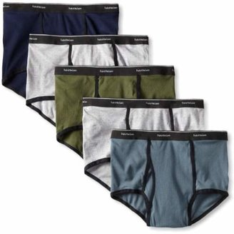 Fruit of the Loom Men's Big Man Ringer Fashion Brief(Pack of 5)