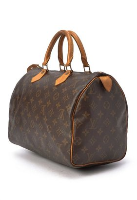 Louis Vuitton Pre-Owned: brown monogram canvas 'Speedy 30' bag