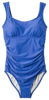 Merona Women's 1-Piece Swimsuit -Blue