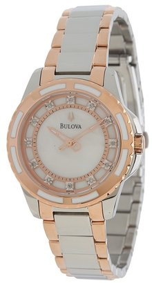 Bulova - Ladies Diamonds - 98P134 Analog Watches $375 thestylecure.com