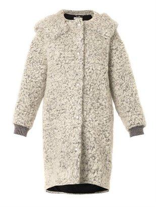 Stella McCartney Clara mohair and wool-blend bouclé coat