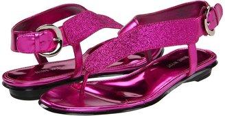 Nine West Safiah (Dark Pink/Dark Pink Synthetic) - Footwear