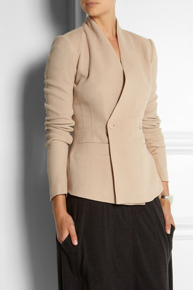 Rick Owens Hollywood wool-crepe jacket