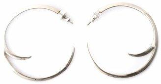 Shaun Leane cat claw hoop earrings