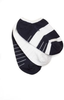 Ralph Lauren Toddler's Rugby Ankle Socks/3-Pair