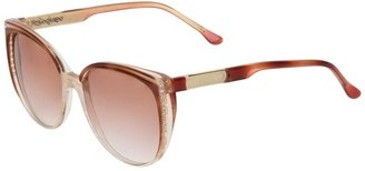 Yves Saint Laurent Pre-Owned Butterfly Frame Sunglasses