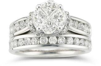 MODERN BRIDE Harmony Eternally in Love 2 CT. T.W. Certified Diamond Bridal Set