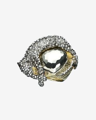 Alexis Bittar Siyabona Gold Pyrite Panther Ring