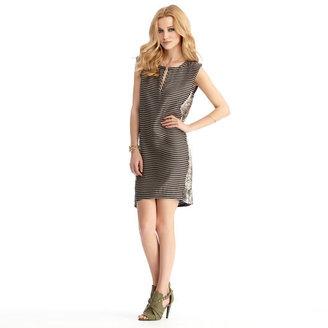 Rachel Roy Snake Combo Shift Dress