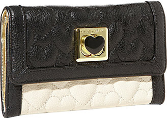Betsey Johnson Be My Wonderful Flapover Wallet