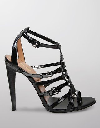 "L.A.M.B. Ladonna"" Patent Leather Stiletto Gladiator Sandals"