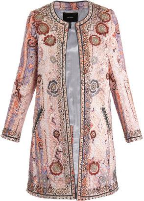Isabel Marant Juliana embellished coat