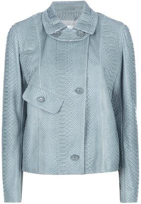 Yves Salomon button down jacket