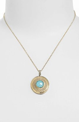 Anna Beck 'Gili' Wire Rimmed Pendant Necklace