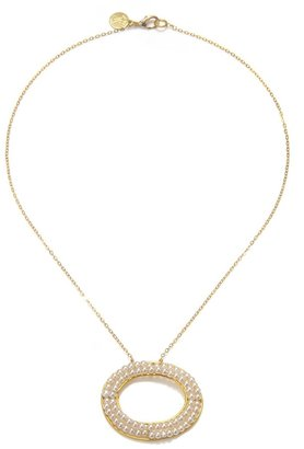 Wendy Mink Baby Shell Pearl Necklace