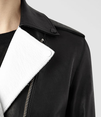 AllSaints Allen Leather Biker Jacket