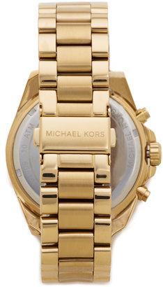 Michael Kors Bradshaw Gold Chronograph Watch