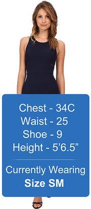 ABS by Allen Schwartz Bodycon Dress w/ Sheer Mesh Inserts
