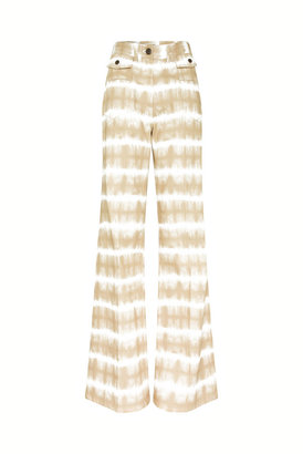 Gerard Darel Anna - High-waisted Wide-leg Washed Pants