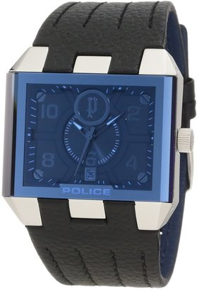 Police Men's PL-12551JS/03 Leather Watch