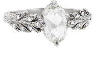 Cathy Waterman Double Leaf Rose Cut Diamond Ring