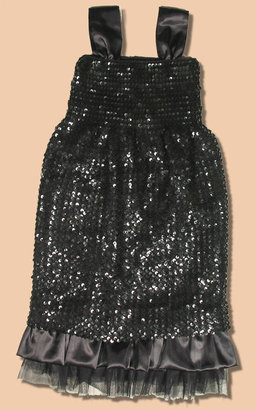 Pirouette Tween Black Teagan Dress